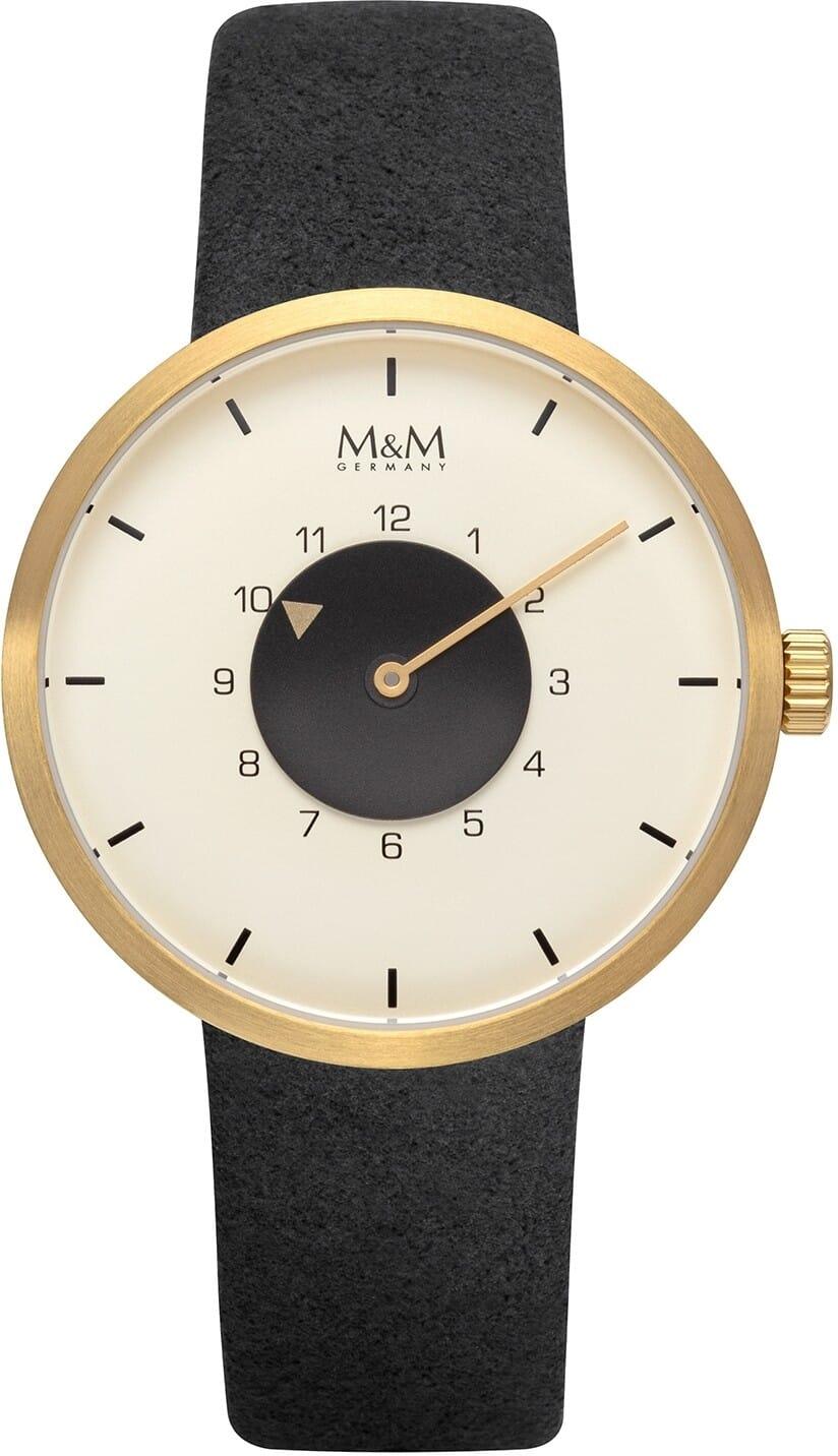 M&M Germany M11950-411 Desugn line Dames Horloge