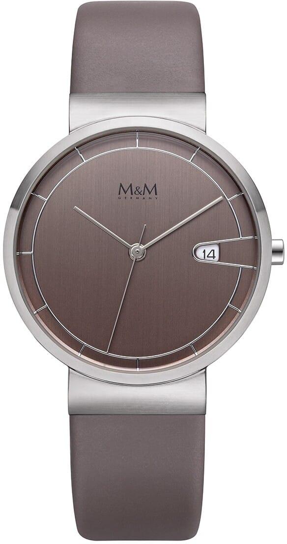 M&M Germany M11953-848 Date Dames Horloge