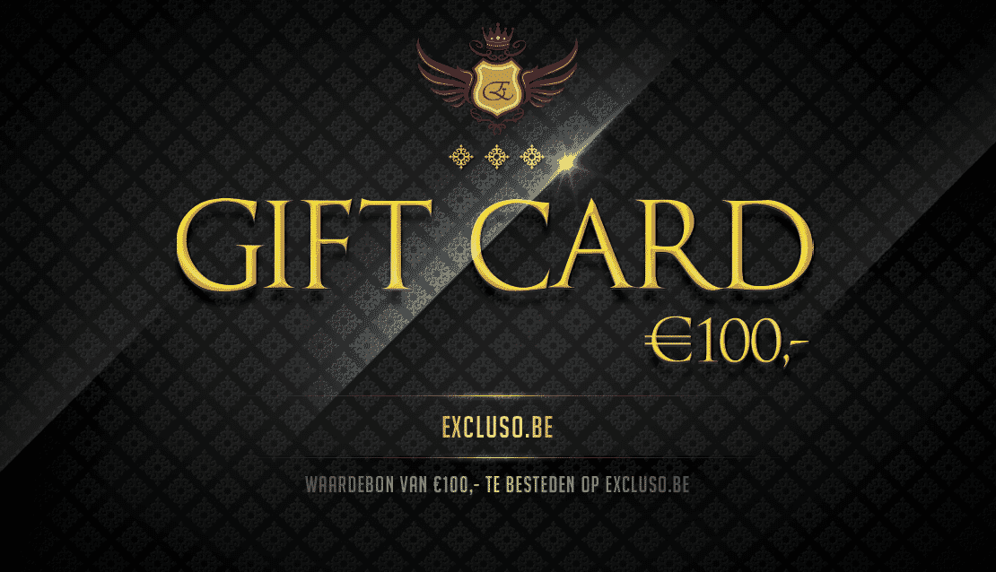 Excluso.be Gift Card €100,-