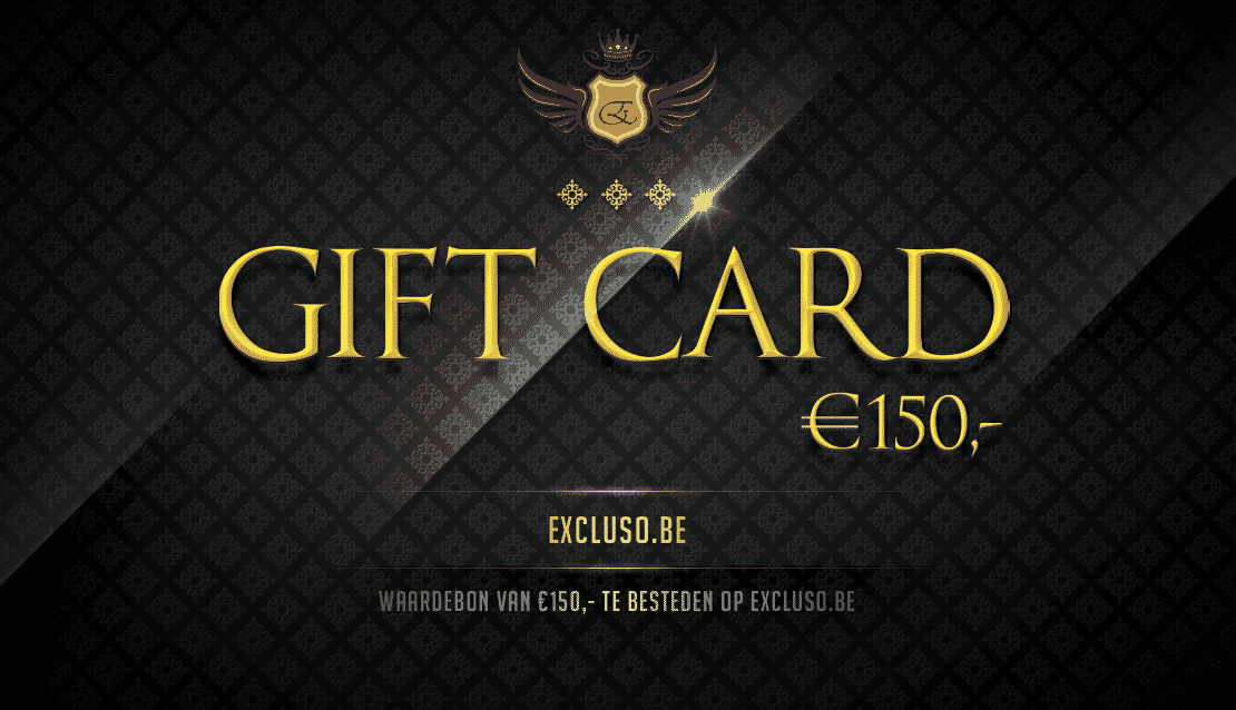 Excluso.be Gift Card €150,-