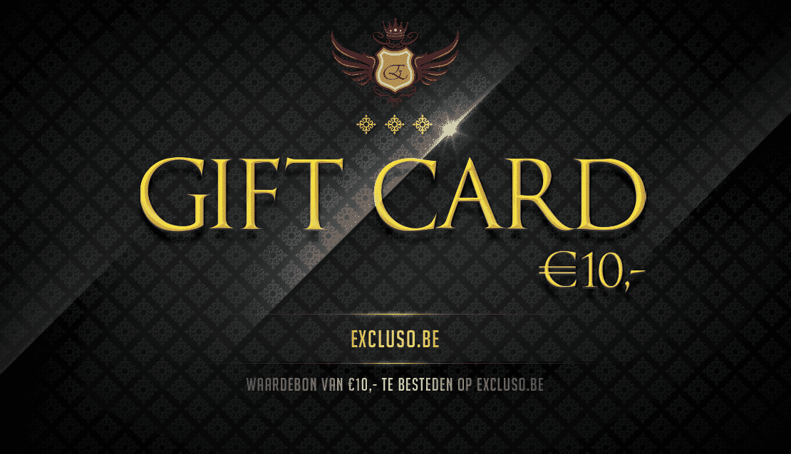 Excluso.be Gift Card €10,-