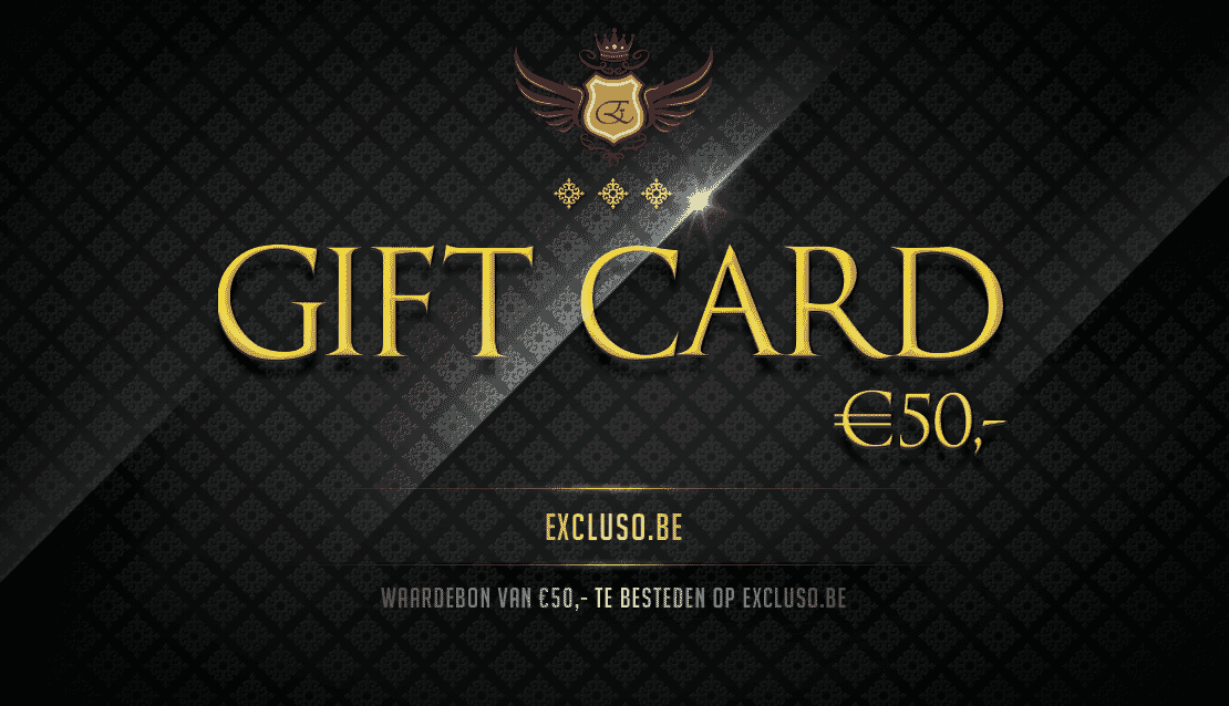 Excluso.be Gift Card €50,-