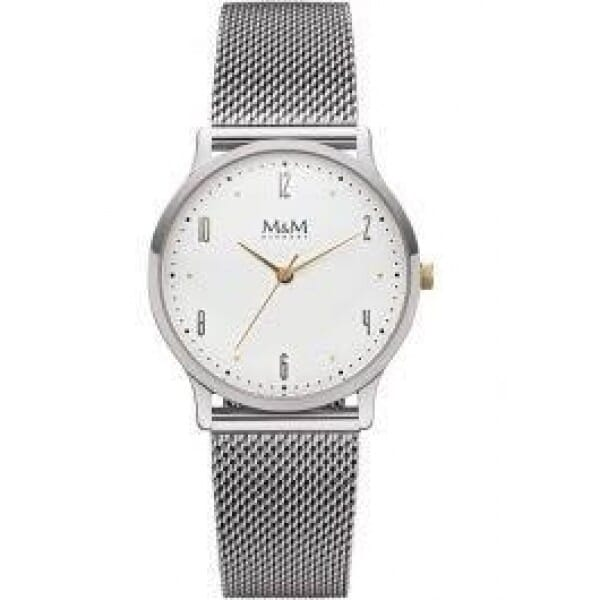 M&M Germany M11941-163 Flat design Dames Horloge