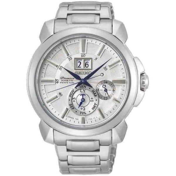 Seiko Premier SNP159P1 Heren Horloge