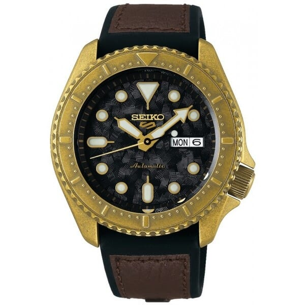 Seiko SRPE80K1 Seiko 5 Sports Heren Horloge