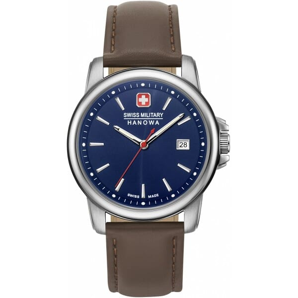 Swiss Military Hanowa 06-4230.7.04.003 Swiss Recruit II Heren Horloge