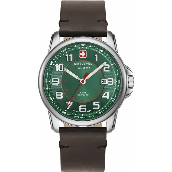 Swiss Military Hanowa 06-4330.04.006 Swiss Grenadier Heren Horloge