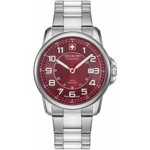 Swiss Military Hanowa 06-5330.04.004 Swiss Grenadier Heren Horloge