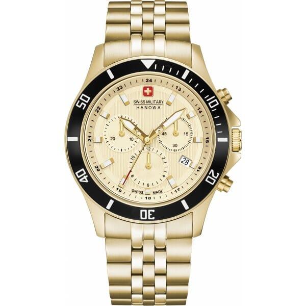 Swiss Military Hanowa 06-5331.02.002 Flagship Chrono II Heren Horloge