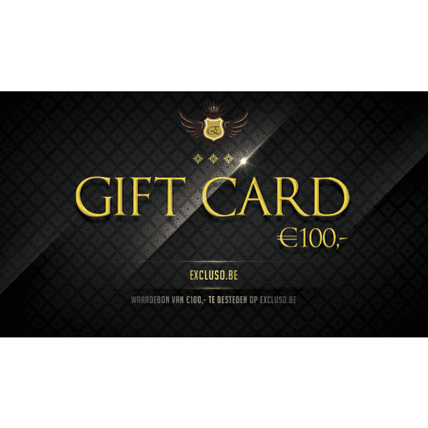 Excluso Gift Card €100,-