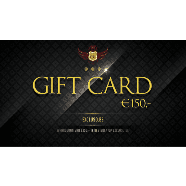 Excluso Gift Card €150,-
