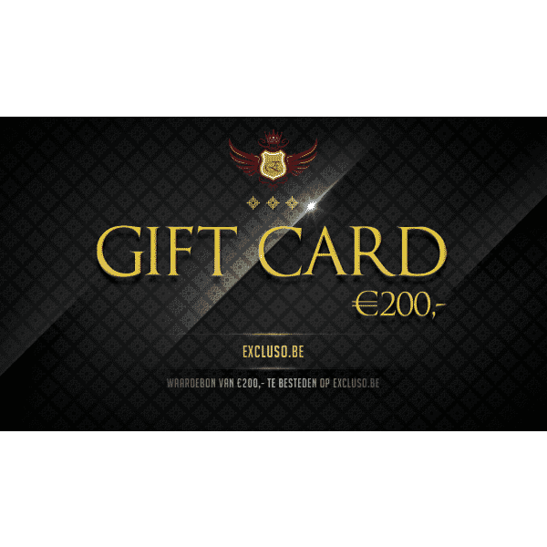 Excluso Gift Card €200,-